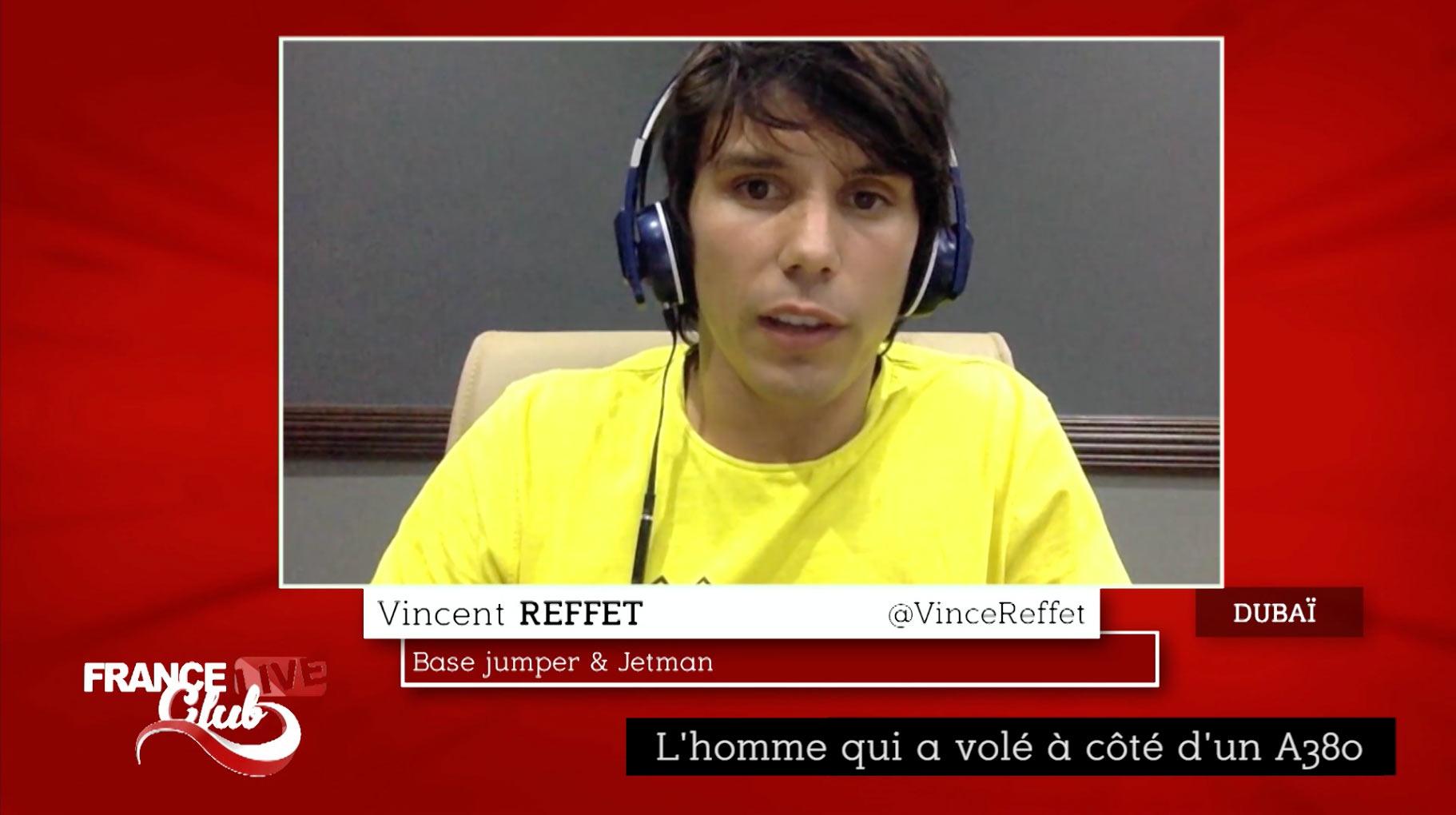 Vincent Reffet dans France Live